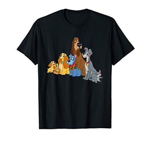 Disney Lady and the Tramp Dogs T-Shirt
