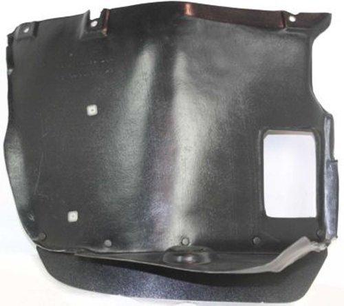 Crash Parts Plus Front Passenger Side Right Splash Shield Fender Liner for 1999-2005 BMW 3 Series (Splash 328i Shield Bmw)