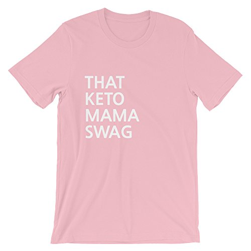 Cascade Collective Keto Mama Swag Tee | Keto Shirt | Ketosis | Short-Sleeve T-Shirt ()
