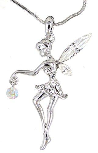 (Sparkleshop New Enchanting Fairy Pendant Necklace)