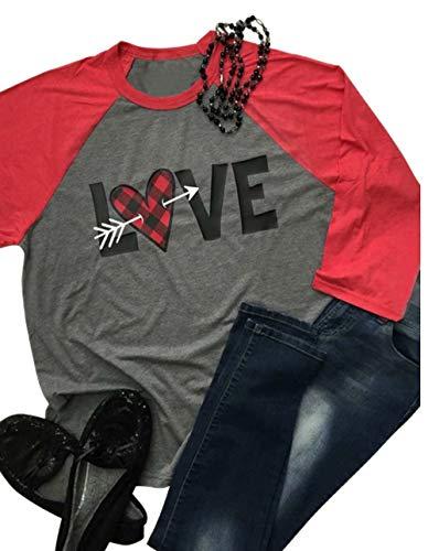 Heart Baseball T-Shirt - 8