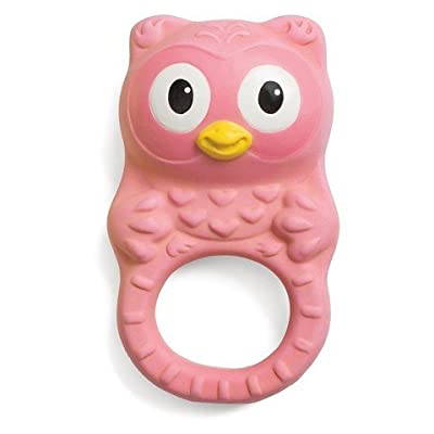 Infantino Go GaGa Squeeze & Teethe Textured Pal - Owl : Baby