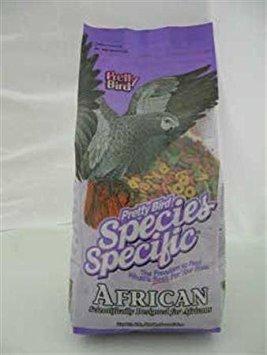 - Pretty Bird International Species Specific African Bird Food- 8-Pound