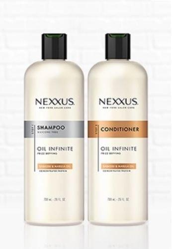 (Nexxus Oil Infinite 25 OZ/739 mL Shampoo & Conditioner Set [Babassu Oil] (25 OZ/739 mL Shampoo & Conditioner)