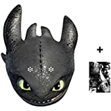 Mask Pack - Toothless - How To Train Your Dragon 2 Party Card Face Mask (single) includes 6x4 inch (15cm x 10cm) Star Photo