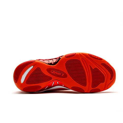 AND1 Herren Tai Chi Basketballschuh rot