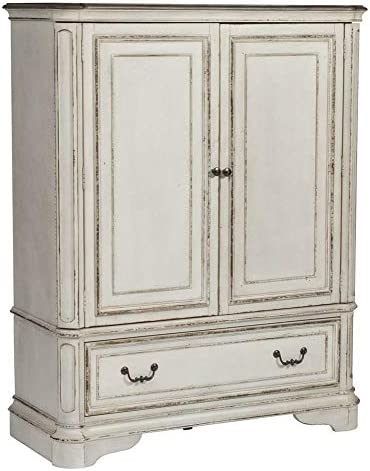 Liberty Furniture Industries Magnolia Manor Door Chest, White