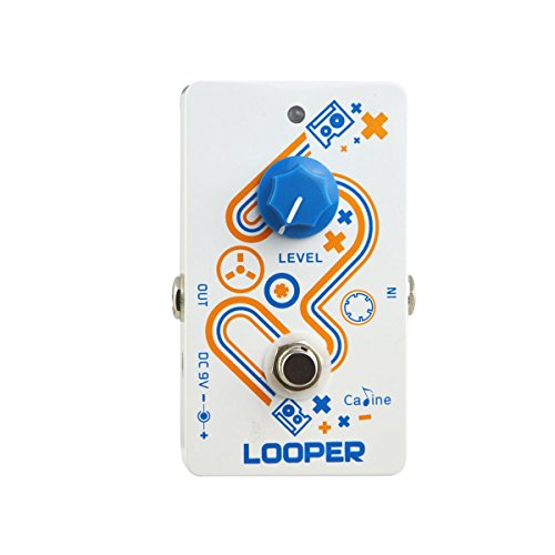 Caline Looper Guitar Effect Pedal High Quality with Low Noise CP-33 by Caline