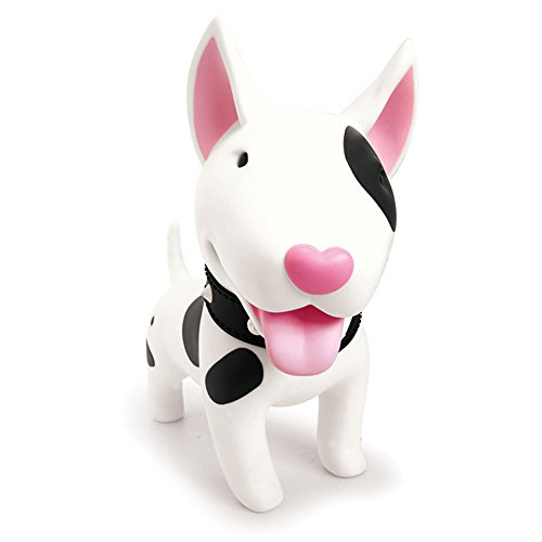 ELEOPTION Cute Dog Bank Cute Money Box Decorative Saving Coin Bank Toy for Kids Room Gift for Boys or Girls (Bull Terrier) (Pit Bull Piggy Bank)