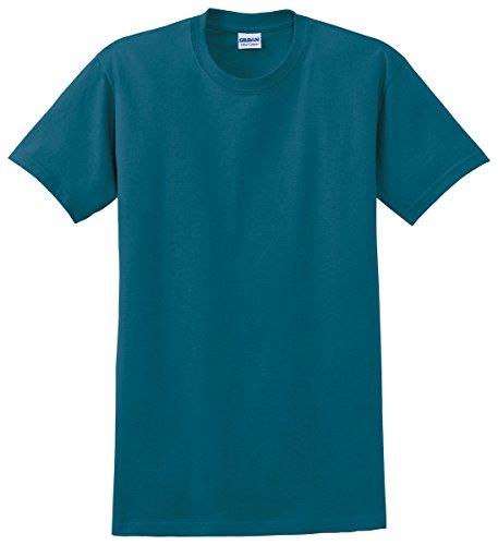 Gildan mens Ultra Cotton 6 oz. T-Shirt(G200)-GALAPAGOS - T-shirt Cotton Heavyweight Ultra