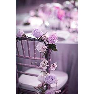Efavormart 84 Artificial Buds Roses for DIY Wedding Bouquets Centerpieces Arrangements Party Home Decoration Supply - Lavender 5