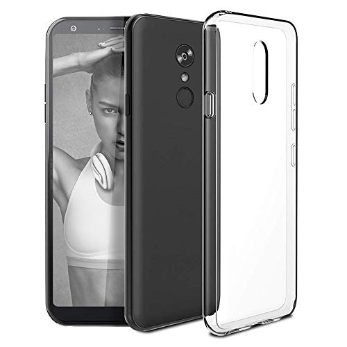 LG Stylo 4 Case, LG Q Stylus Case, Ultra [Slim Thin] Flexible TPU Shock Absorption Soft Skin Silicone Protective Case Cover for LG Stylo 4 / LG Q Stylus (Crystal Clear) ()