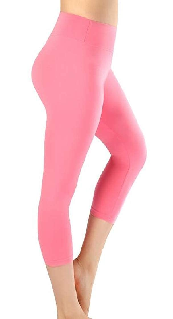 KLJR Women Stretch High Rise Skinny Gym Workout Yoga Yoga Shorts Leggings