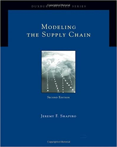 Amazon com: Modeling the Supply Chain (Duxbury Applied