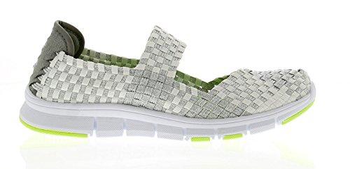 Heavenly Feet Lollipop Ocean Multi Shoes White/Silver 0fdG6e