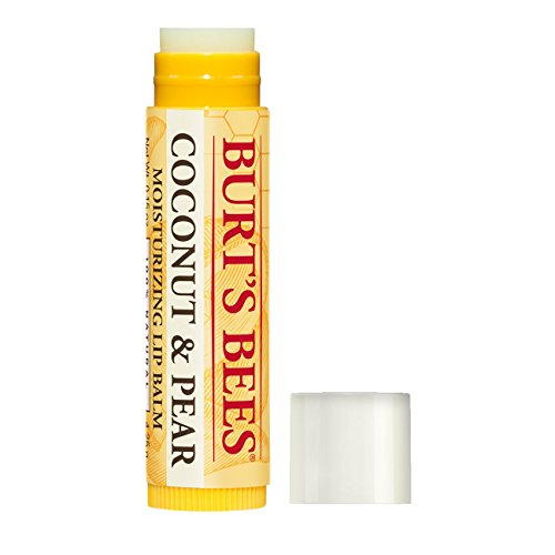 Burts-Bees-100-Natural-Moisturizing-Lip-Balm-Coconut-Pear-with-Beeswax-Fruit-Extracts-2-Tubes
