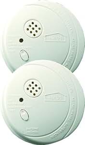Elro RM121C/2 - Detector de humos óptico (certificado DIN EN 14604, 2 unidades) [Importado de Alemania]
