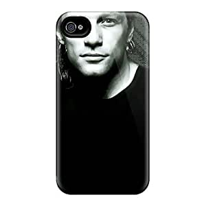 Durable Bon Jovi Band Back Case/cover For Iphone 4/4s