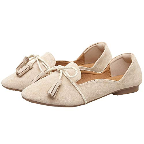 shoes fashion shoes comfortable 34 flat slip work EU and shoes mouth maternity shoes FLYRCX autumn casual Spring non shallow ladies UIq8n6