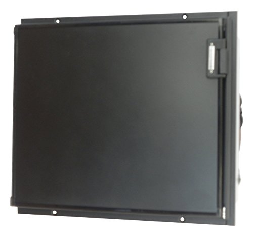 TruckFridge TF65ACDC Black Refrigerator (2.4 cubic ft 12vDC/110vAC for Commercial Vehicles)