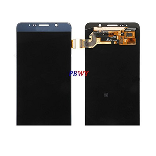 High Quality for Samsung Galaxy Note5 Note 5 Lcd Display Screen with + Touch Digitizer for N920 N920f N920t N920a (Blue) (Samsung Galaxy Note 5 Best Price)