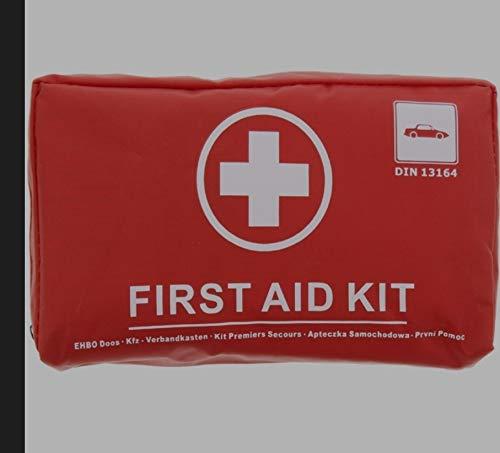 first aid kit   EHBO kit   rood/wit   één maat   41-delig  