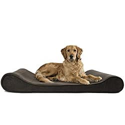 Furhaven Pet Small Microvelvet Luxe Lounger Orthopedic Pet Bed from Furhaven Pet Products