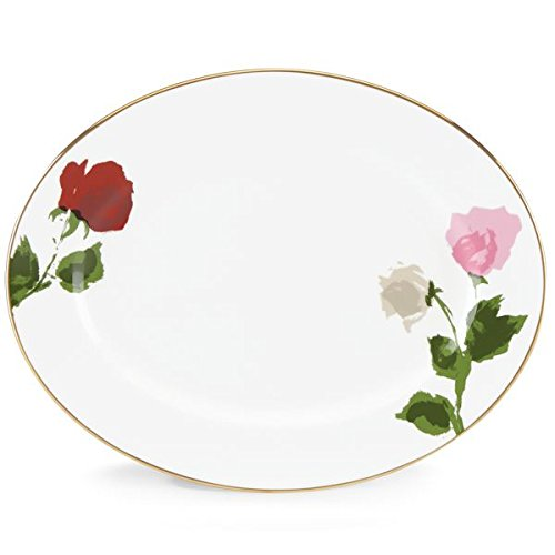 kate spade new york Rose Park Oval Platter