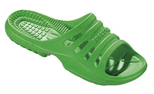 Chanclas para mujer de EVA Beco 90652 verde neón
