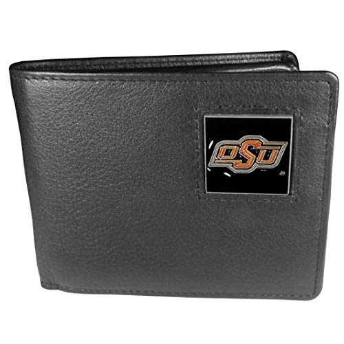 NCAA Oklahoma State Cowboys Leather Bi-fold Wallet