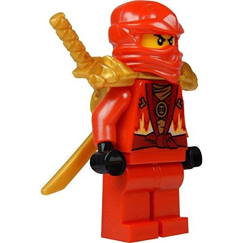 Amazon.com: LEGO® Ninjago: Kai Minifig (Rojo Ninja) con dos ...
