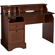 Sauder Graham Hill Desk, Autumn Maple Finish