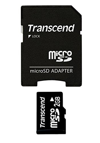 Transcend 2 GB microSD Flash Memory Card ()
