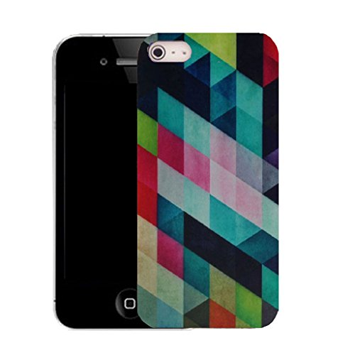 Mobile Case Mate IPhone 5 clip on Silicone Coque couverture case cover Pare-chocs + STYLET - platform pattern (SILICON)