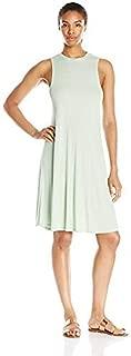 product image for good hYOUman Women's Slim Jamie Seafoam Mock Neck Dress
