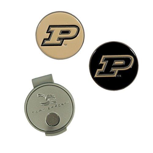 Team Effort Purdue Boilermakers Hat Clip & 2 Ball Markers