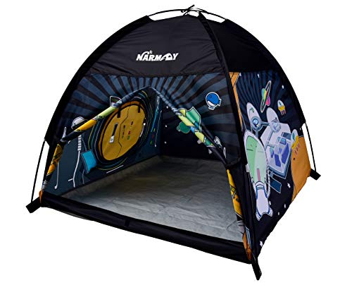 NARMAY Play Tent Space World Dome Tent for Kids Indoor / Outdoor Fun - 48 x 48 x 40 inch ()