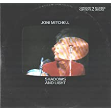 Joni Mitchell: Shadows And Light 2LP VG+/VG++ Canada Asylum 2XBB-704