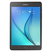 "Samsung Galaxy Tab A 8"" PLS (1024 x 768) Tablet, 16 GB, Android 5.0 (Lollipop), 5.0 MP rear camera, 2.0 MP front camera, microSD slot, Wi-Fi, Bluetooth, Color: smoky titanium"