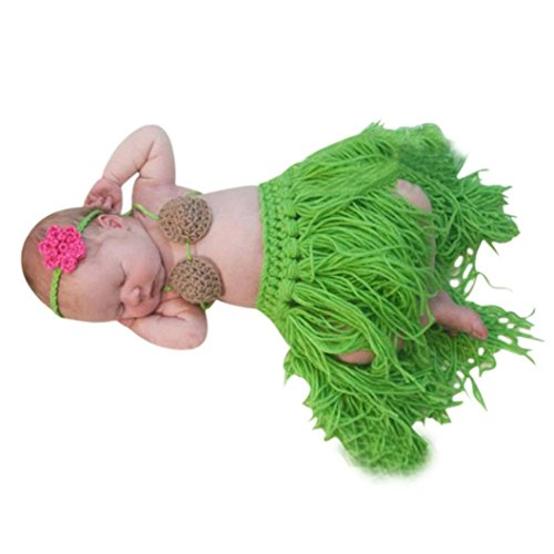 - Bookear Clearance! Baby Girs Outfit Newborn Photography Props Handmade Knitted Photo Prop Infant Accessories (As Show)