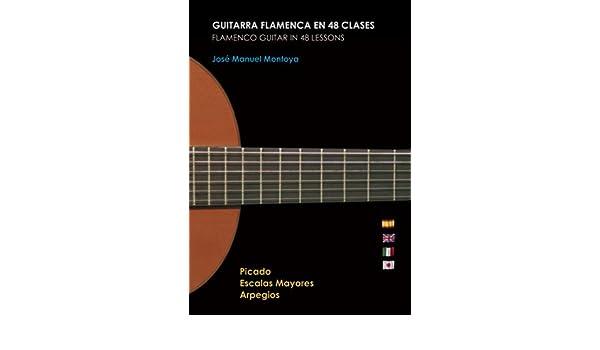 Guitarra Flamenca en 48 clases PACK / Flamenco Guitar in 48 ...
