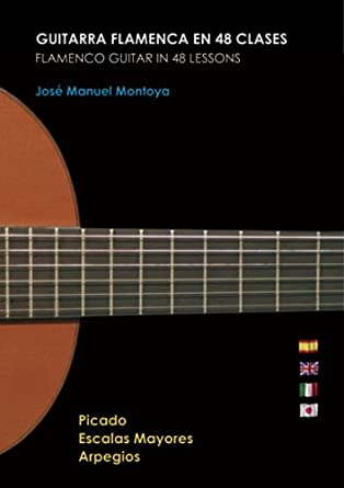 Guitarra Flamenca en 48 clases PACK / Flamenco Guitar in 48 lessons PACK - Jose Manuel Montoya DVD/Libro: Amazon.es: Jose Manuel Montoya, Lucia García Silva: Cine y Series TV