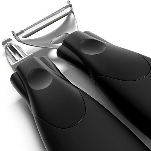 UPC 646437238212, Super Peelers - Triple Your Peeling Speed - Ultra Sharp Stainless Steel Double-edged Blades - Sharp Y Shaped Potato Peeler and Vegetable Peeler - Set of 2