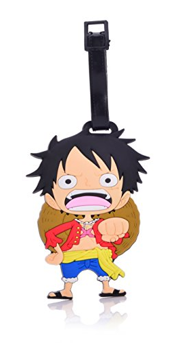 REINDEAR Heavy Duty One Piece Pirates Baggage Luggage Tag (Luffy) ()