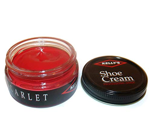 Kelly's Leather Shoe Cream 1.5 Oz,Scarlet, Scarlet, Size 1.5 Oz Zb5x ()