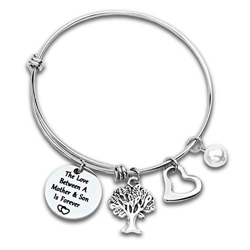 Mom Bracelet from Son Mother Bracelet Mother's Jewelry Gifts Mother Bracelets for Women Bracelets for Mum Jewelry Gifts