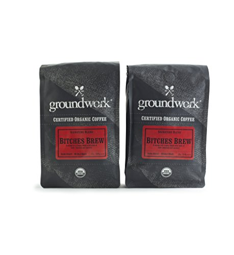 Work Ground Coffee - Groundwork Bitches Brew Organic Coffee (12oz) 2-Pack