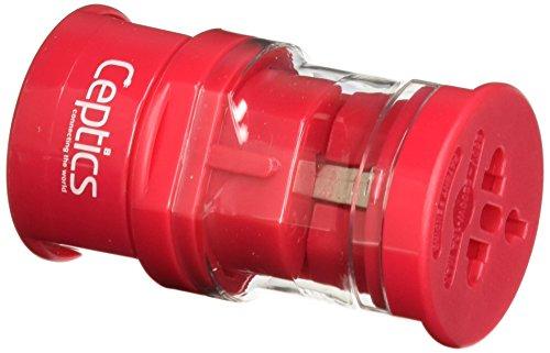Ceptics UP-3K-1-PINK Small Size Worldwide International Trav