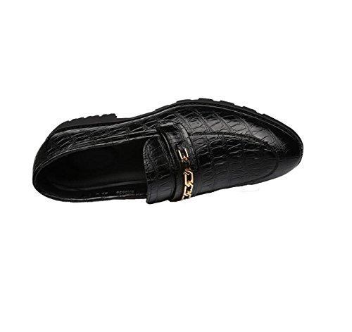 da Coreana Scarpe Resistente Black Nuove Casual Scarpe Tendenza Moda Uomo Antiscivolo Scarpe LQV Antiscivolo delle Versione FpwUq5
