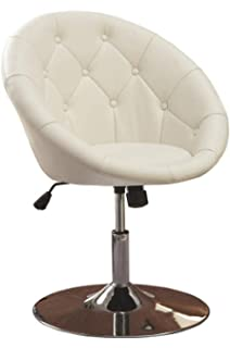 Fabulous Coaster 102580 Round Back Swivel Chair Black Amazon Ca Ncnpc Chair Design For Home Ncnpcorg